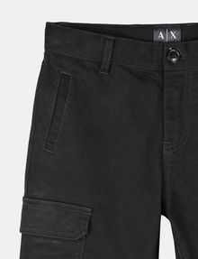 ARMANI EXCHANGE BOYS BRUSHED COTTON CARGO JOGGERS Jogger Man d