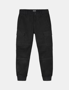 ARMANI EXCHANGE BOYS BRUSHED COTTON CARGO JOGGERS Jogger Man f