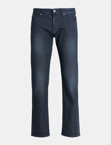 ARMANI EXCHANGE STRAIGHT FIT INDIGO OVERDYED JEANS STRAIGHT JEANS U b
