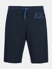 ARMANI EXCHANGE A|X VARSITY INSIGNIA SHORTS Fleece Short Man b
