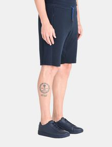 ARMANI EXCHANGE A|X VARSITY INSIGNIA SHORTS Fleece Short Man d