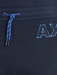 ARMANI EXCHANGE A|X VARSITY INSIGNIA SHORTS Fleece Short Man e