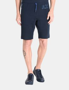 ARMANI EXCHANGE A|X VARSITY INSIGNIA SHORTS Fleece Short Man f