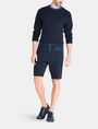 ARMANI EXCHANGE A|X VARSITY INSIGNIA SHORTS Fleece Short Man a