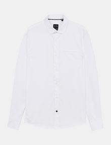 ARMANI EXCHANGE DOBBY DOT WELT POCKET SHIRT Long sleeve shirt Man b