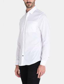ARMANI EXCHANGE DOBBY DOT WELT POCKET SHIRT Long sleeve shirt Man d