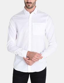 ARMANI EXCHANGE DOBBY DOT WELT POCKET SHIRT Long sleeve shirt Man f