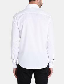 ARMANI EXCHANGE DOBBY DOT WELT POCKET SHIRT Long sleeve shirt Man r