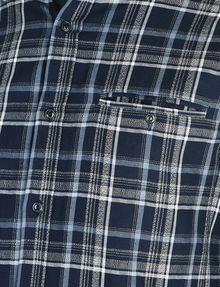 ARMANI EXCHANGE TWILL PLAID WELT-POCKET SHIRT Long sleeve shirt Man e