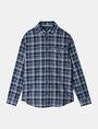 ARMANI EXCHANGE TWILL PLAID WELT-POCKET SHIRT Long sleeve shirt Man b