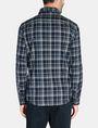 ARMANI EXCHANGE TWILL PLAID WELT-POCKET SHIRT Long sleeve shirt Man r