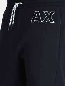 ARMANI EXCHANGE A|X VARSITY INSIGNIA SHORTS Fleece Short U e