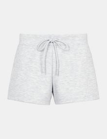 ARMANI EXCHANGE DEBOSSED LOGO SHORTS Fleece Short Woman b
