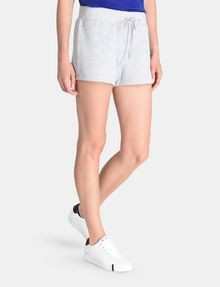 ARMANI EXCHANGE DEBOSSED LOGO SHORTS Fleece Short Woman d