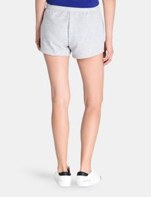 ARMANI EXCHANGE DEBOSSED LOGO SHORTS Fleece Short Woman r