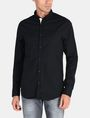 ARMANI EXCHANGE SLIM TAB COLLAR DOBBY STRIPE SHIRT Long sleeve shirt Man f