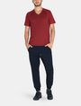 ARMANI EXCHANGE ALLOVER A|X PANELED RAGLAN V-NECK T-SHIRT S/S Knit Top Man a