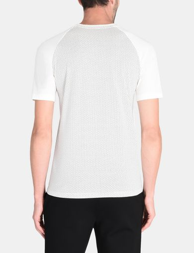 ALLOVER A|X PANELED RAGLAN V-NECK T-SHIRT