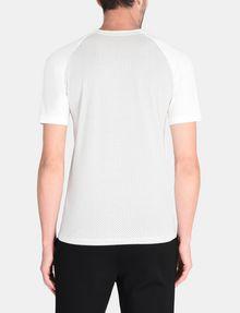ARMANI EXCHANGE ALLOVER A|X PANELED RAGLAN V-NECK T-SHIRT S/S Knit Top Man r