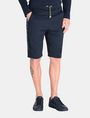 ARMANI EXCHANGE TONAL LOGO NEOPRENE SHORTS Fleece Short Man f