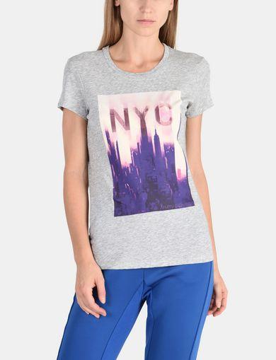 SUNSET NYC SKYLINE TEE