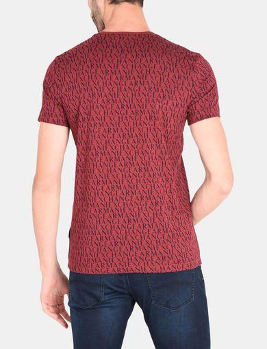 ARMANI EXCHANGE S/S Knit Top Man R