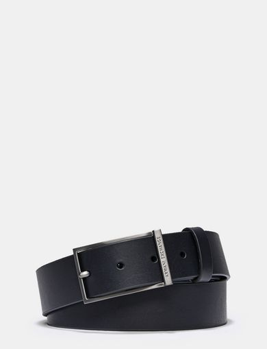 LONG PRONG LEATHER BELT