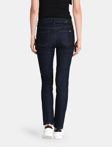 CLEAN CROPPED SLIM JEANS