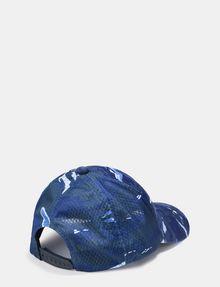 ARMANI EXCHANGE TRIANGLE LOGO CAMO HAT Hat E r