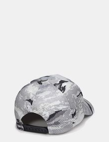 ARMANI EXCHANGE TRIANGLE LOGO CAMO HAT Hat E r