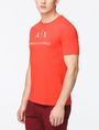 ARMANI EXCHANGE AX CREWNECK T-SHIRT Logo T-shirt Man d