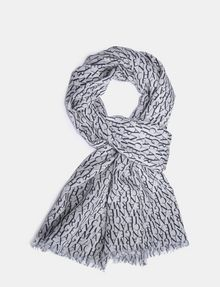 ARMANI EXCHANGE LIGHTWEIGHT ALLOVER LOGO SCARF Schal Herren f