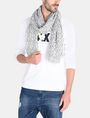 ARMANI EXCHANGE LIGHTWEIGHT ALLOVER LOGO SCARF Schal Herren r