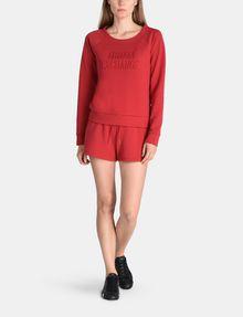ARMANI EXCHANGE DEBOSSED LOGO SHORTS Fleece-Shorts [*** pickupInStoreShipping_info ***] a