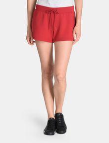 ARMANI EXCHANGE DEBOSSED LOGO SHORTS Fleece-Shorts [*** pickupInStoreShipping_info ***] f