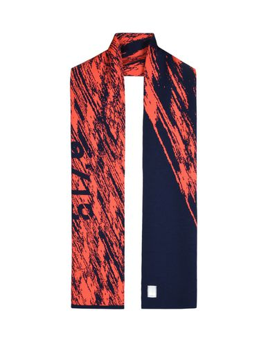 N03A7 N03A7 GRAPHIC SCARF (100% WOOL, 12 GAUGE)