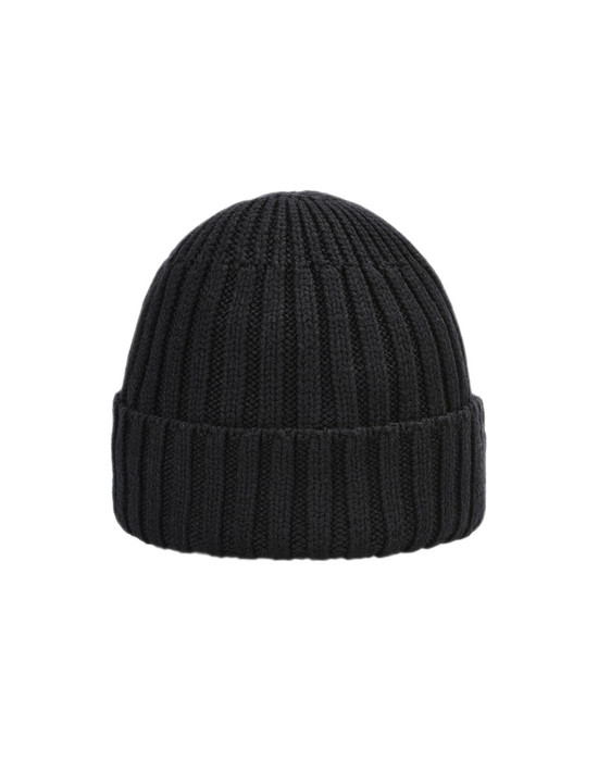 Hat N02A3 CHAMBER BEANIE (COMFORT WINTER COTTON, 7 GAUGE) STONE ISLAND SHADOW PROJECT - 0