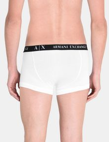 ARMANI EXCHANGE 2 PACK LOGO TRUNK Boxer Man d