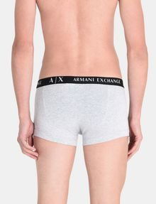 ARMANI EXCHANGE 3 PACK LOGO TRUNK Boxer Herren d