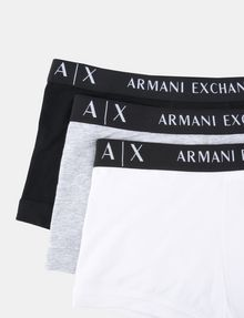 ARMANI EXCHANGE 3 PACK LOGO TRUNK Boxer Herren e