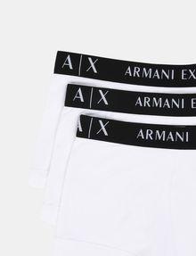 ARMANI EXCHANGE 3 PACK LOGO TRUNK Boxer Man e