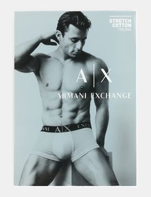 ARMANI EXCHANGE LOGO TRUNK Boxer Man a
