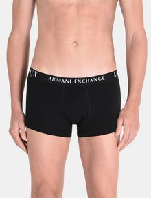 ARMANI EXCHANGE 2 PACK LOGO TRUNK Boxer Man r