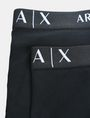 ARMANI EXCHANGE 2 PACK LOGO TRUNK Boxer Man e