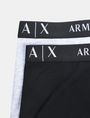 ARMANI EXCHANGE 2 PACK LOGO TRUNK Boxer Herren e