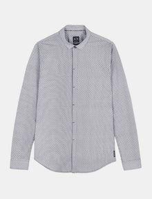 ARMANI EXCHANGE SLIM FIT FOULARD PRINT SHIRT Long sleeve shirt Man b
