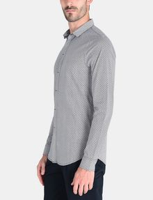 ARMANI EXCHANGE SLIM FIT FOULARD PRINT SHIRT Long sleeve shirt Man d