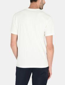 ARMANI EXCHANGE VERTICAL SIDE PRINT V-NECK T-SHIRT Logo T-shirt U r