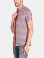 ARMANI EXCHANGE CONTRAST PLACKET SHORT SLEEVE SHIRT Short sleeve shirt Man d