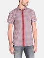 ARMANI EXCHANGE CONTRAST PLACKET SHORT SLEEVE SHIRT Short sleeve shirt Man f